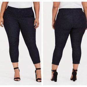 Torrid Crop Classic Skinny Trouser Jean Size 14R